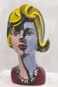 Roy Lichtenstein - Kopf