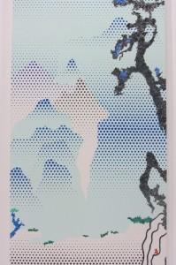 Roy Lichtenstein - Landschaft mit Philosoph